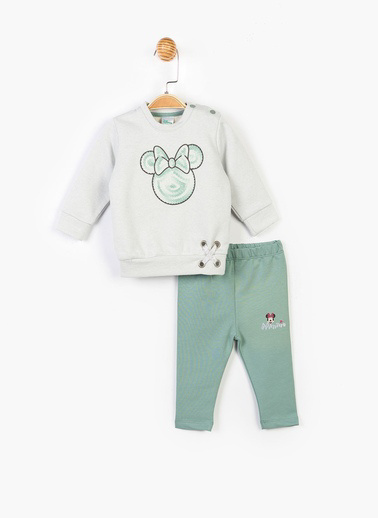 Mickey Mouse 2 li Takım Gri